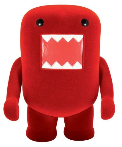 Domo figure, produced by Dark Horse. Front view.