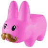 Pink Stache Labbit Stool (Art Giants)