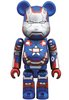 Iron Man 3 (Iron Patriot) Be@rbrick 100%