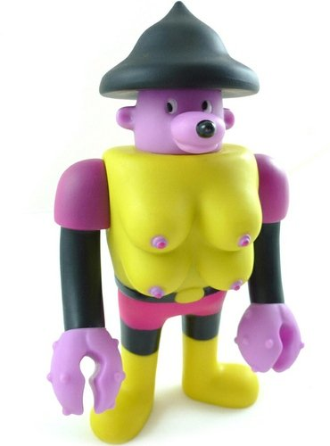 The Four Boob Bozwangler figure by Cupco, produced by Cupco. Front view.