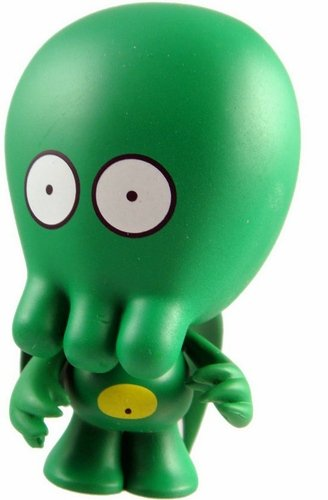 Buddycthulhu figure by John Kovalic, produced by Dreamland Toyworks. Front view.