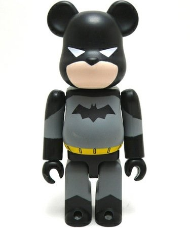 Batman - Hero Be@rbrick Series 21 figure by Dc Comics, produced by Medicom Toy. Front view.