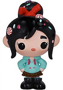 Vanellope figure by Disney, produced by Funko. Front view.