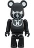 Hysteric Bear Be@rbrick 100% - Black