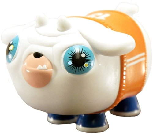 Puck - Foosh  figure by Okedoki, produced by Vtss Toys. Front view.
