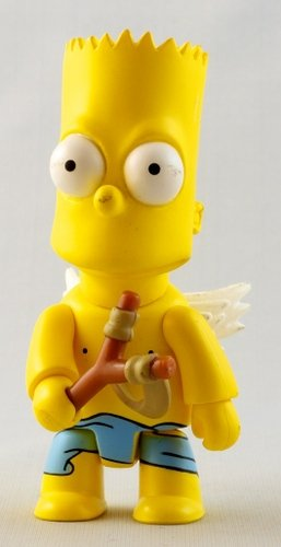 Angel Bart figure by Matt Groening, produced by Toy2R. Front view.
