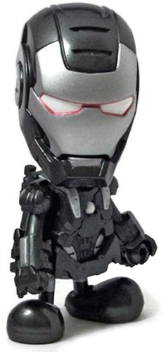 War Machine figure by Marvel, produced by Hot Toys. Front view.