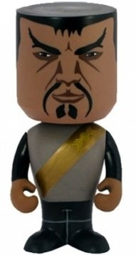 Klingon Nodnik figure, produced by Funko. Front view.