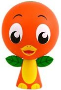 Orange Bird figure by Casey Jones, produced by Disney. Front view.