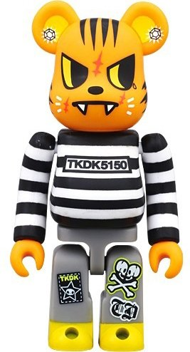 pick up 18355 85ffb Tokidoki Tiger Be@rbrick 100% figure by Simone Legno ...