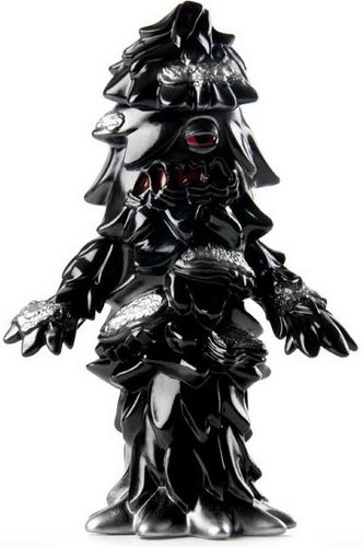 Toxic Conifer - Black figure by Gargamel, produced by Gargamel. Front view.