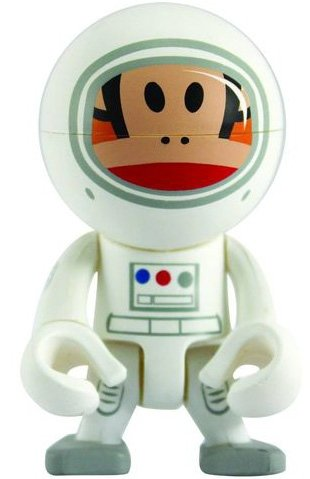 Astronaut Julius Trexi figure by Paul Frank, produced by Play Imaginative. Front view.