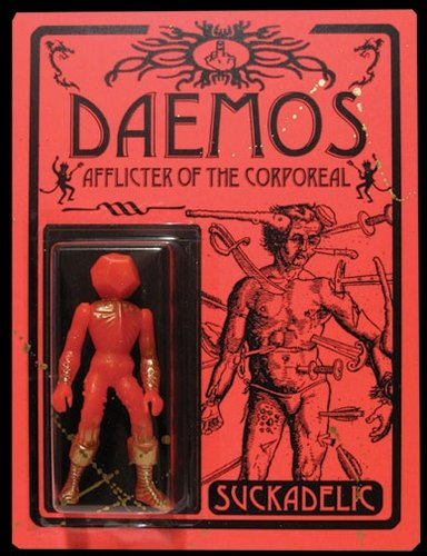 DAEMOS figure by Sucklord. Front view.