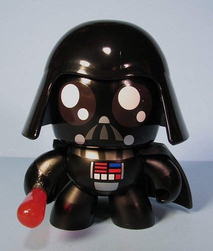Darth Vader figure, produced by Hasbro. Front view.