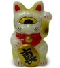Mini Fortune Cat - White Pearl