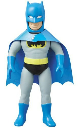 Batman (バットマン) - Frenzy Bros. figure by Dc Comics, produced by Medicom Toy. Front view.