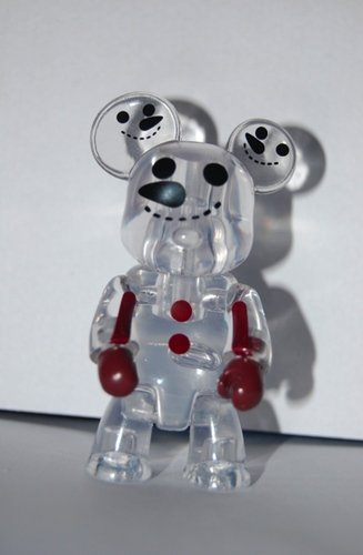 Snowman Clear Variant figure by Toy2R, produced by Toy2R. Front view.