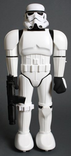 Super Shogun Stormtrooper figure by Super7, produced by Super7. Front view.