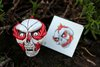 Skull Tattoos - Flaming Skull - Custom