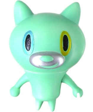 Mao Cat -  Rare Species Green figure by Touma. Front view.