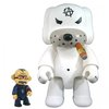 Anarchy Dog Qee White 8""