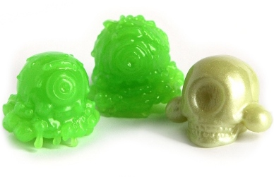 The Melty Misfit Resin Head 3 Pack