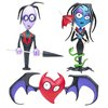 Art, Articia and Heartbat – AFI art toy