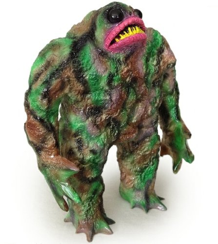 Rhaal - Swamp Born figure by Barry Allen, produced by Gorgoloid. Front view.