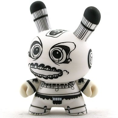 Petatero figure by Kraken, produced by Kidrobot. Front view.