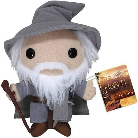 Gandalf the Grey figure, produced by Funko. Front view.