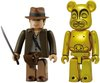 Indiana Jones Kubrick & Golden Idol Be@rbrick Set
