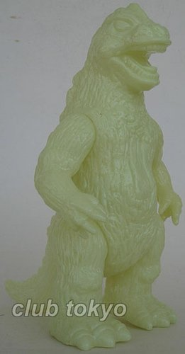 Godzilla Bullmark Style Glow(Lucky Bag) figure by Yuji Nishimura, produced by M1Go. Front view.
