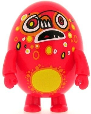 Tootles figure by Jon Burgerman, produced by Toy2R. Front view.