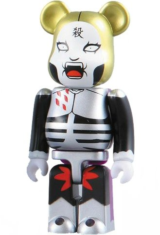 Johannes Krasuer II - Horror Be@rbrick Series 16 figure by Dmc (Detroit Metal City), produced by Medicom Toy. Front view.