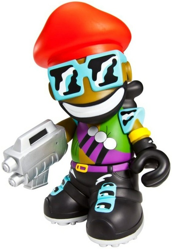 Major Lazer Kidrobot Mascot