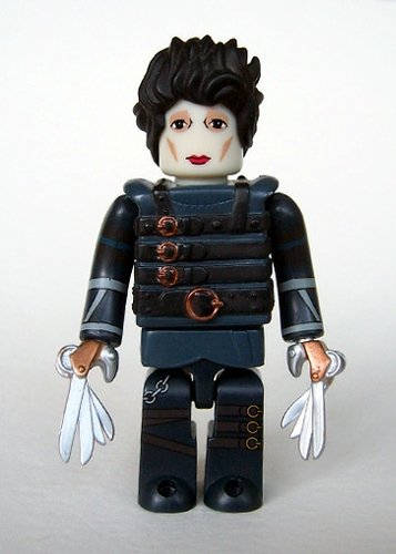 Edward Scissorhands figure, produced by Medicom Toy. Front view.