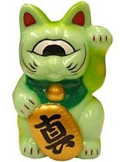Fortune Cat Baby (フォーチュンキャットベビー) figure by Mori Katsura, produced by Realxhead. Front view.