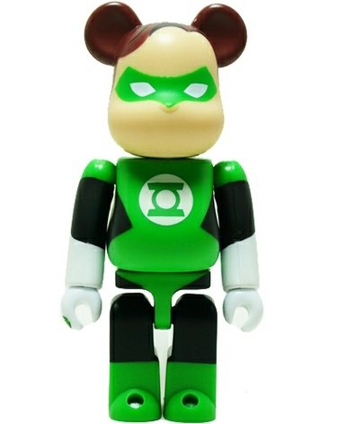 Green Lantern - Hero Be@rbrick Series 22 figure by Dc Comics, produced by Medicom Toy. Front view.