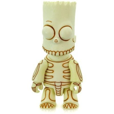 Nuclear Bart - GID figure by Matt Groening, produced by Toy2R. Front view.
