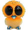 Baby Owl - Orange Blue GID