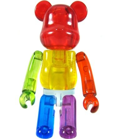 Jellybean Be@rbrick Series 20 figure, produced by Medicom Toy. Front view.