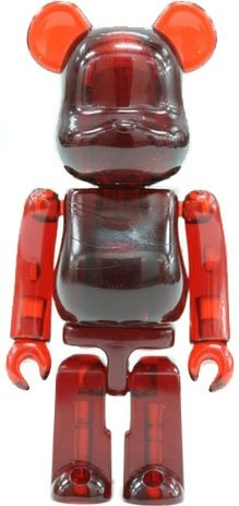 Jellybean Be@rbrick Series 14 figure, produced by Medicom Toy. Front view.