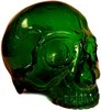 Skull Head 1/1 - Clear Green