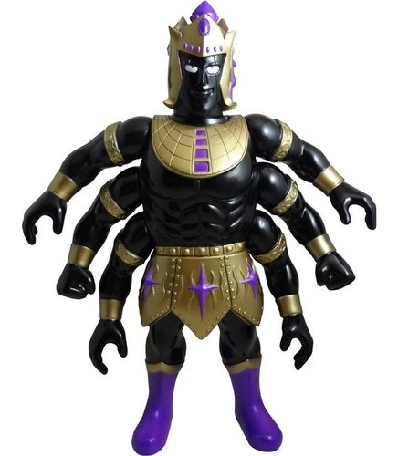 Ashuraman - Black Body Ver. figure, produced by Five Star Toy. Front view.