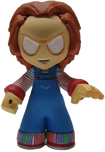 Chucky (Childs Play) figure by Funko, produced by Funko. Front view.