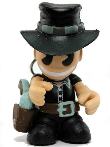 The Bad figure, produced by Kidrobot. Front view.