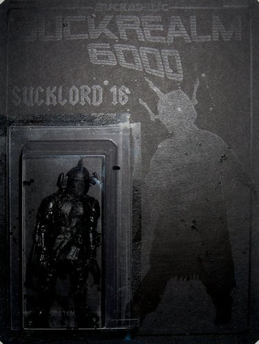 Sucklord 16 figure by Sucklord, produced by Suckadelic. Front view.