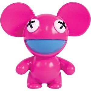 Candy Deadmau5 figure by Deadmau5, produced by Oddco Ltd. Front view.