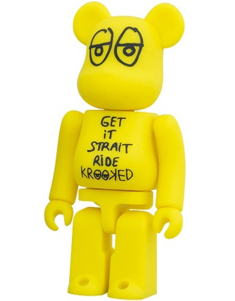 Krooked - Artist Be@rbrick S20