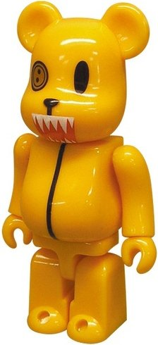 Buster-kun - Animal Be@rbrick Series 15 figure by Pillows, produced by Medicom Toy. Front view.